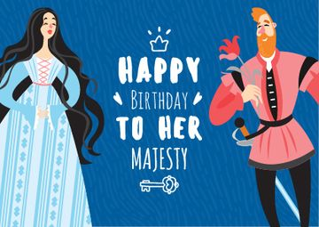 Queen's Birthday Greeting