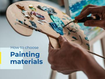 Painting materials Offer
