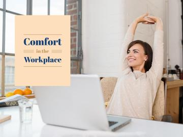 Comfort in the workplace