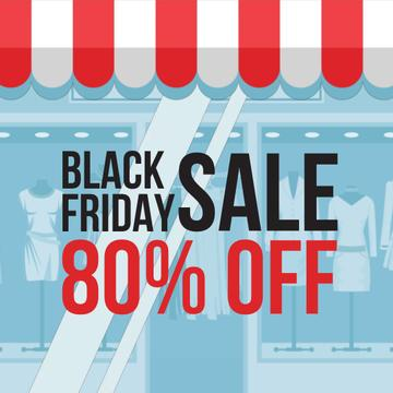 Black Friday Offer with Showcase in Blue