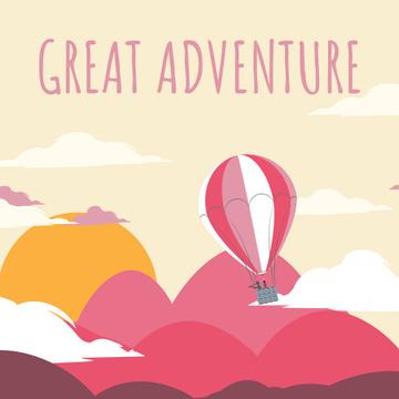 Hot Air Balloon Flying Adventure