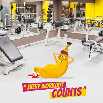 Banana training in Gym
