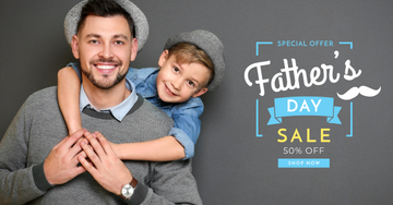 Special offer on Father's Day