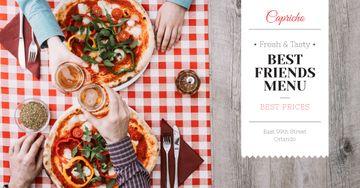 Best friends menu Offer