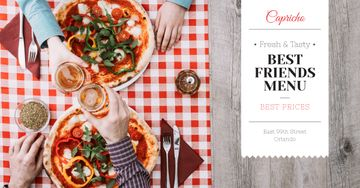 Best friends Day menu Offer
