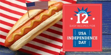 12 Recipes on USA Independence Day