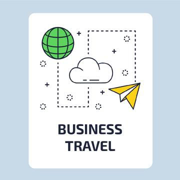 Travelling services icons