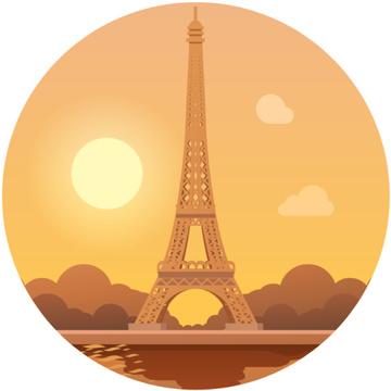Paris famous travelling spot