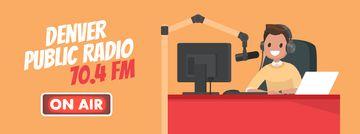 Radio Show Announcement with Presenter