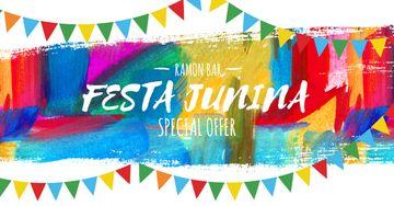 Ramon bar on Festa Junina