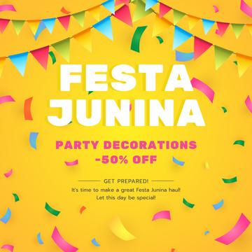 Festa Junina party decorations sale