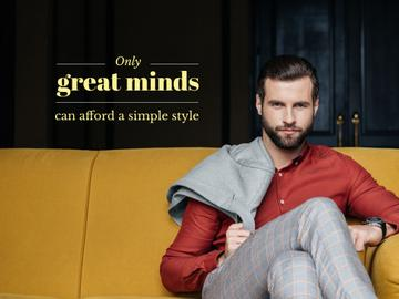 Great minds about a style