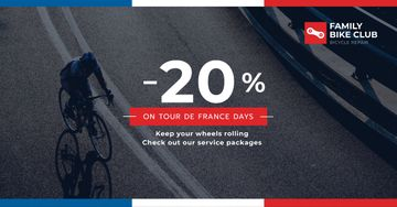 Tour de France Family bike club discounts