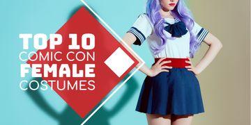 Comic Con female costumes