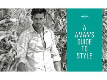 A man's guide to style