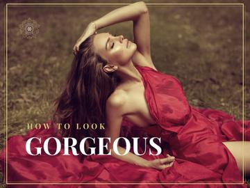 How to look gorgeous