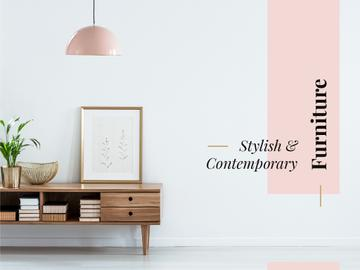 Stylish and contemporary furniture