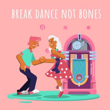 People dancing by jukebox