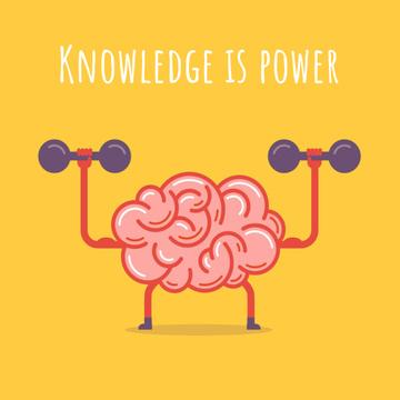 Brain training with dumbbells