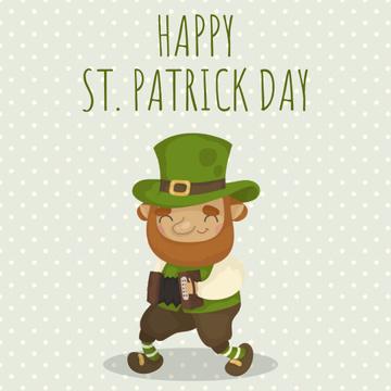 Saint Patrick's leprechaun