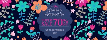 Fashion Sale Blooming Wildflowers