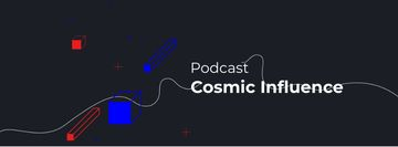 Podcast Ad moving Geometric figures