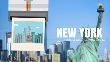 Tour Invitation with New York City