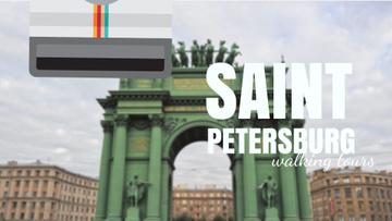 Saint Petersburg Narva Triumphal Arch Travelling Spot