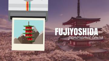 Fujiyoshida famous Travelling spots