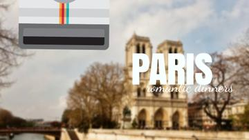 Tour Invitation with Paris Notre-Dame