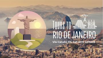 Tour Invitation with Rio Dew Janeiro Travelling Spots