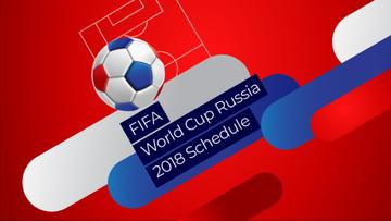 FIFA Soccer Match Announcement with Jumping Ball