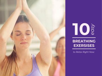 Easy breathing exercises