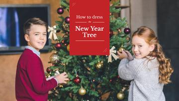 Dress to New Year Tree