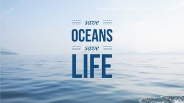 Save oceans save life