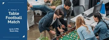 Annual table football match