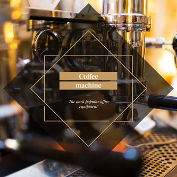Coffee Machine Offer in cafe
