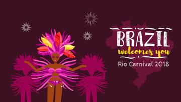 Women Dancing at Brazilian Carnival
