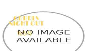 Vintage Party Invitation Girls Flying on Rocket