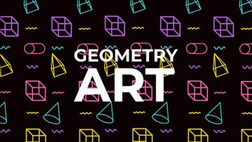 Moving Geometric Figures on Black