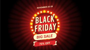 Black Friday Sale Flickering Lamps