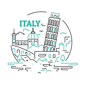 Italy famous travelling spots