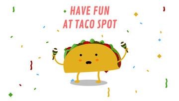Dancing Taco with Maracas
