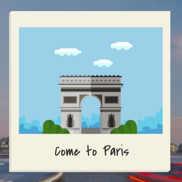 Paris Famous Travel Spot