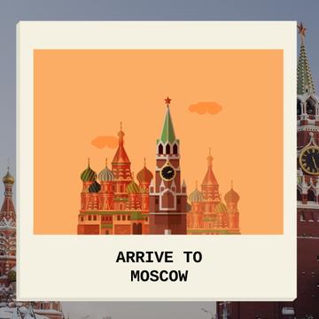Moscow Famous Travel Spot