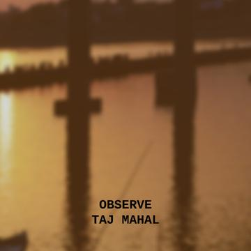 Travelling Tour Ad with Taj Mahal Building