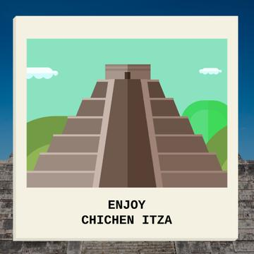 Chichen Itza famous sights