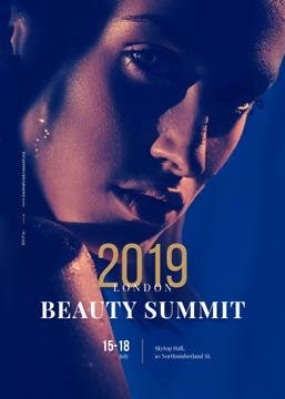Young attractive Woman at Beauty Summit