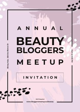 Beauty Blogger meetup on paint smudges