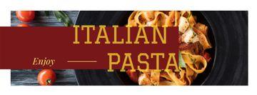 Colorful Italian pasta
